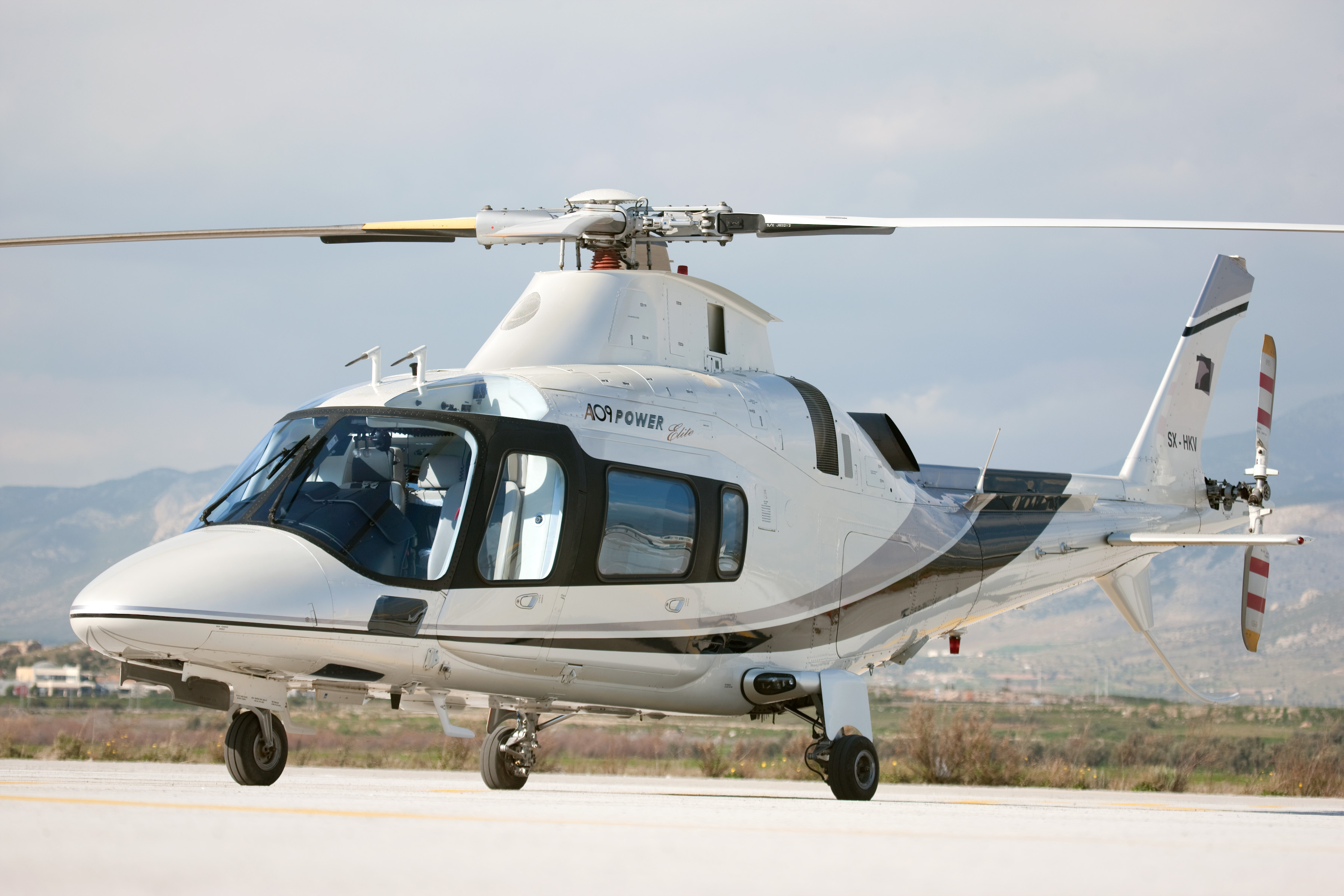Elicottero A109 : Agusta a power elite vip helicopter
