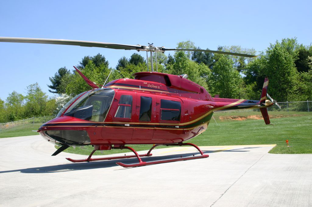 Bell 206 Helicopter Private Services