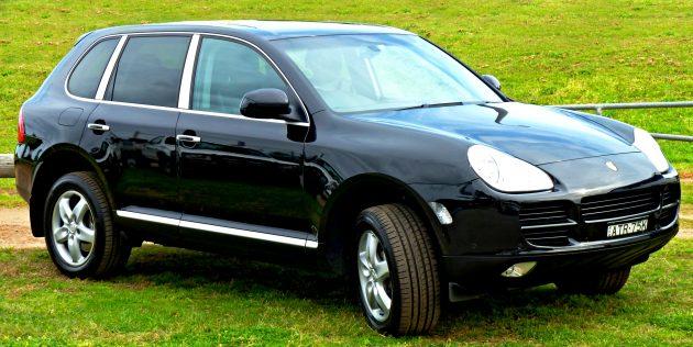 Porsche_Cayenne - VIP transfer