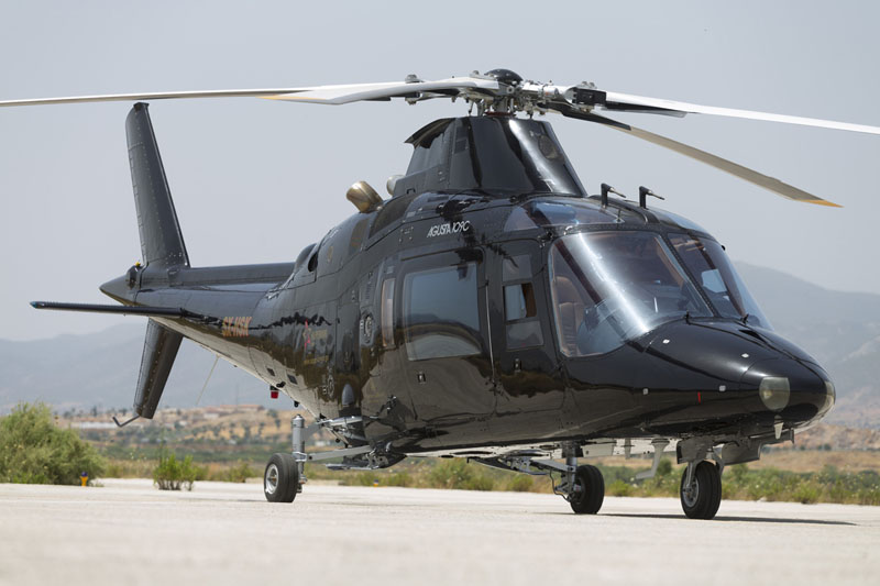 Helicopter tour Agusta 109C