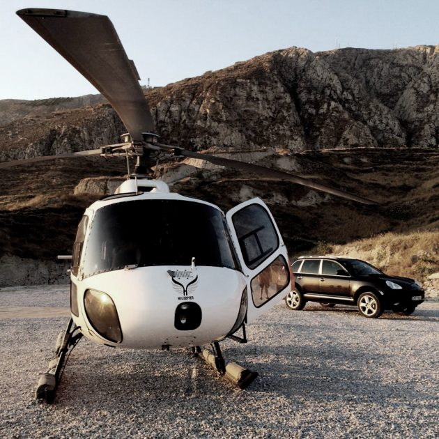 Helicopter VIP transfer