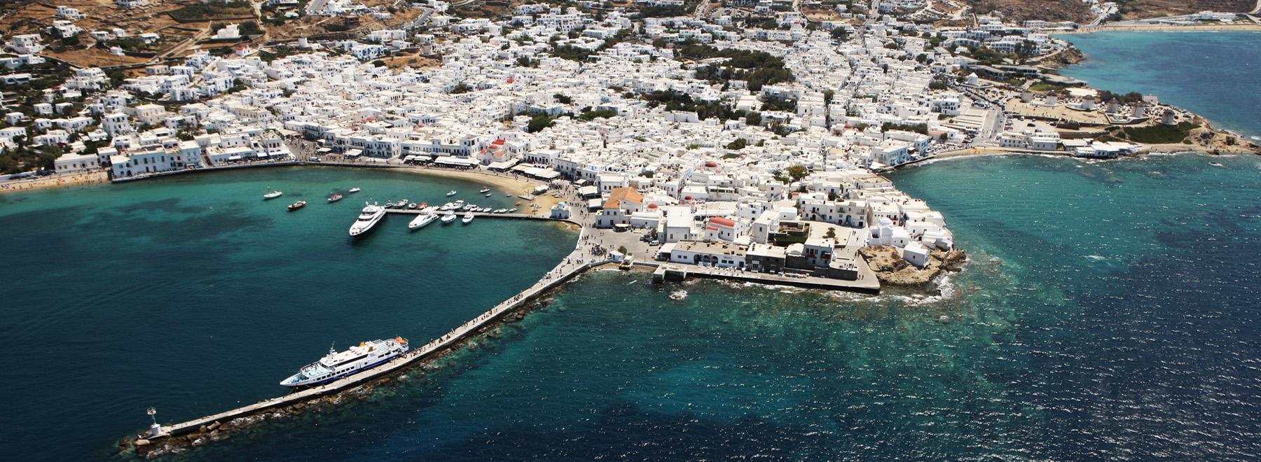 Mykonos Sightseeing Flights