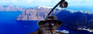 Sightseeing Flights Santorini