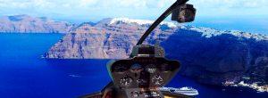 Sightseeing Flights Santorini