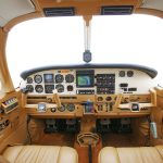 PIPER SARATOGA AIRPLANE Interior