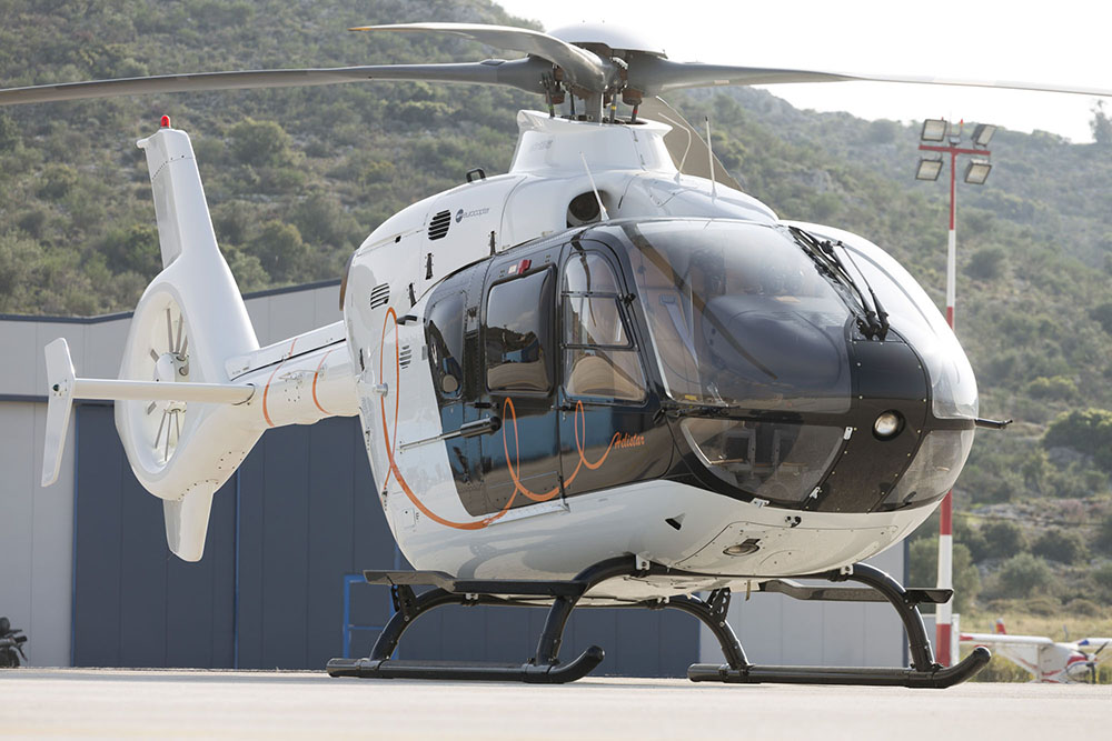 Airbus H135 Helicopter Flights in Athens