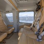 Airbus H135 interior helicopter