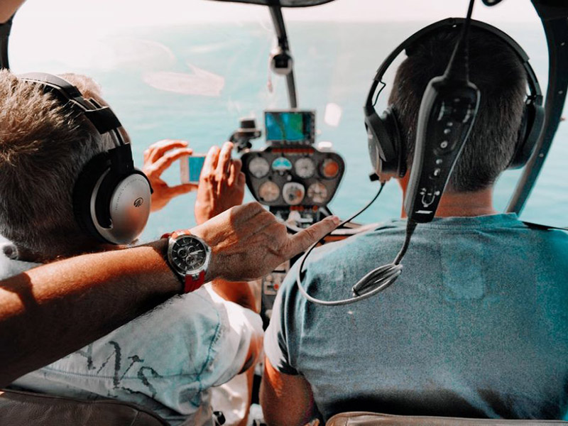 helicopter private services sightseeing flights