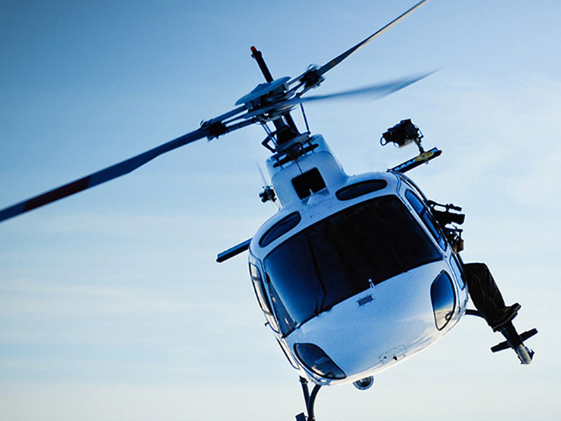 air transportation helicopter private services