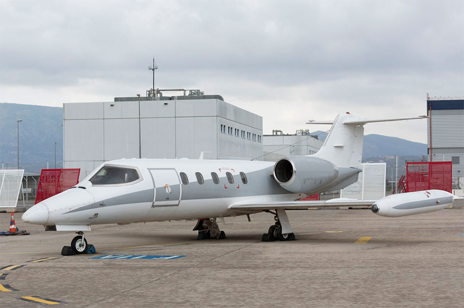 Learjet 35A Private Jet Charter helicopter private services