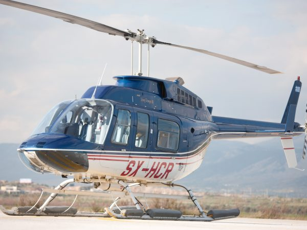 Helicopter Flights in Greece with BELL