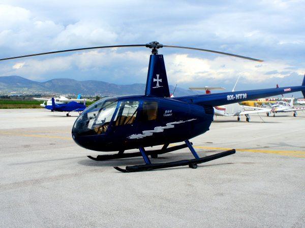 Helicopter Flights in Santorini, Mykonos, Folegandros, Crete, Athens
